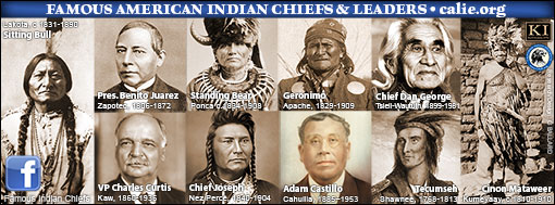 AMERIAN INDIAN CHIEFS ON FACEBOOK